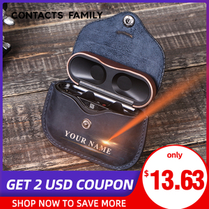 Image 1 - Luxury Bag For SONY AirPods Bluetooth Wireless Earphone Leather Case Cover For Sony WF 1000XM3 Funda Cover Charging Box Cases