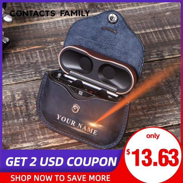 Роскошная сумка для SONY AirPods, Bluetooth, беспроводные наушники, кожаный чехол, чехол для Sony, чехол, чехол для зарядного устройства, чехол s