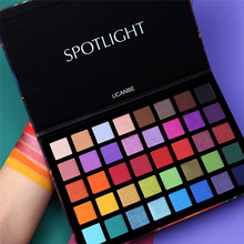 Get more info on the Ucanbe Spotlight Eyeshadow Palette Waterproof 40 Color Shimmer Matte Eye Shadow Highly Pigmented Makeup Pallete Duochrome