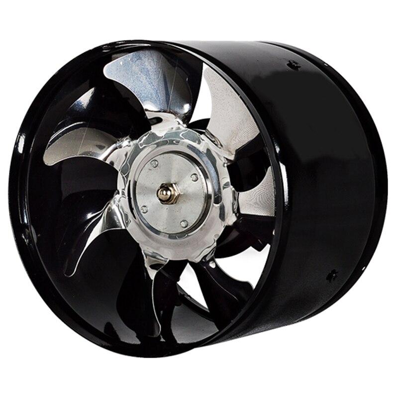 6 Polegada Alta-Velocidade Do Ventilador de Exaustão In-Line Duto Exaustor Da Cozinha do Metal Banheiro Ventilador Ventilador Industrial 220V