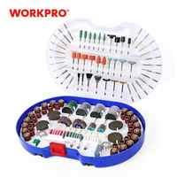 Workpro 276 pc ferramenta giratória acessórios para dremel mini broca conjunto ferramentas abrasivas moagem lixar polimento ferramenta de corte kits