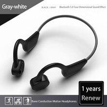 HOLY SERPENT J20 Bone Conduction Bluetooth Earphone Wireless Waterproof Bluetooth 5.0 Headset Ultralight Hifi Headphone Earbuds
