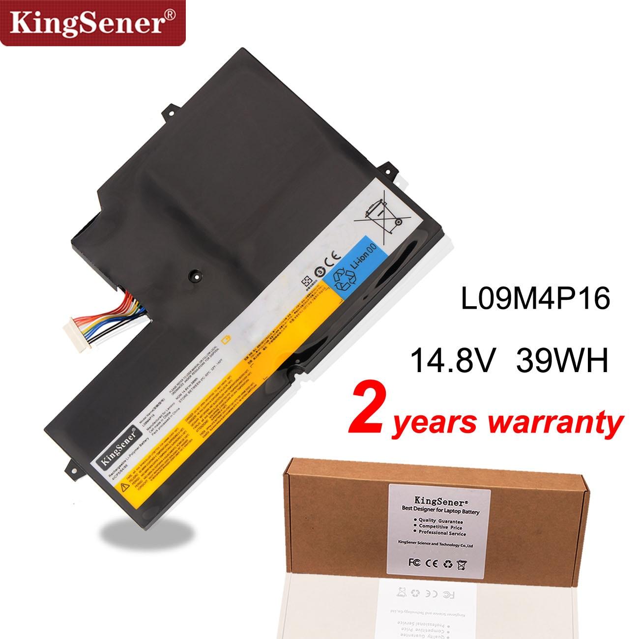 KingSener New L09M4P16 Laptop Battery For Lenovo For IdeaPad U260 Series L09M4P16 57Y6601 KB3072 14.8V 39WH