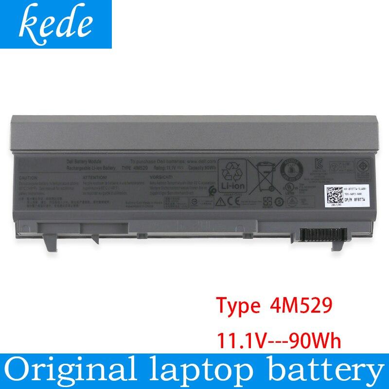 Kede Оригинальный аккумулятор для ноутбука 4M529 для Dell Inspiron E6400 E6410 E6500 E6510 M2400 M4400 M4500 W1193 KY265 PT434 KY477 U844G