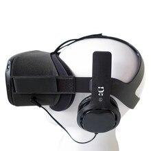 المهنية السلكية سماعة استبدال لعبة الواقع الافتراضي المغلقة سماعة ل كوة كويست سماعات VR اكسسوارات