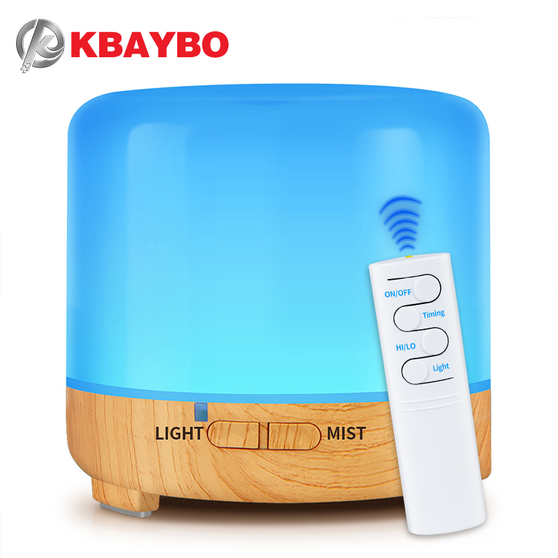 200ml USB Electric Aroma Air Diffuser  Ultrasonic Cool Air Humidifier With 7 Soothing Color LED Changing Light  For Home Kbaybo