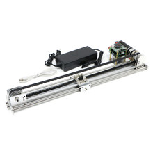 Linear slide table optical axis guide rail slider synchronous belt motor drive teaching open source customizable time delay phot(China)