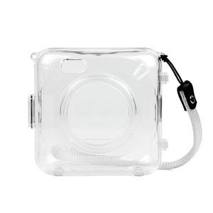 Image 2 - Fashion Transparent Blue Pink Bag Case for PAPERANG P1 Printer Photo Printer Camera Bag Travel Accessories