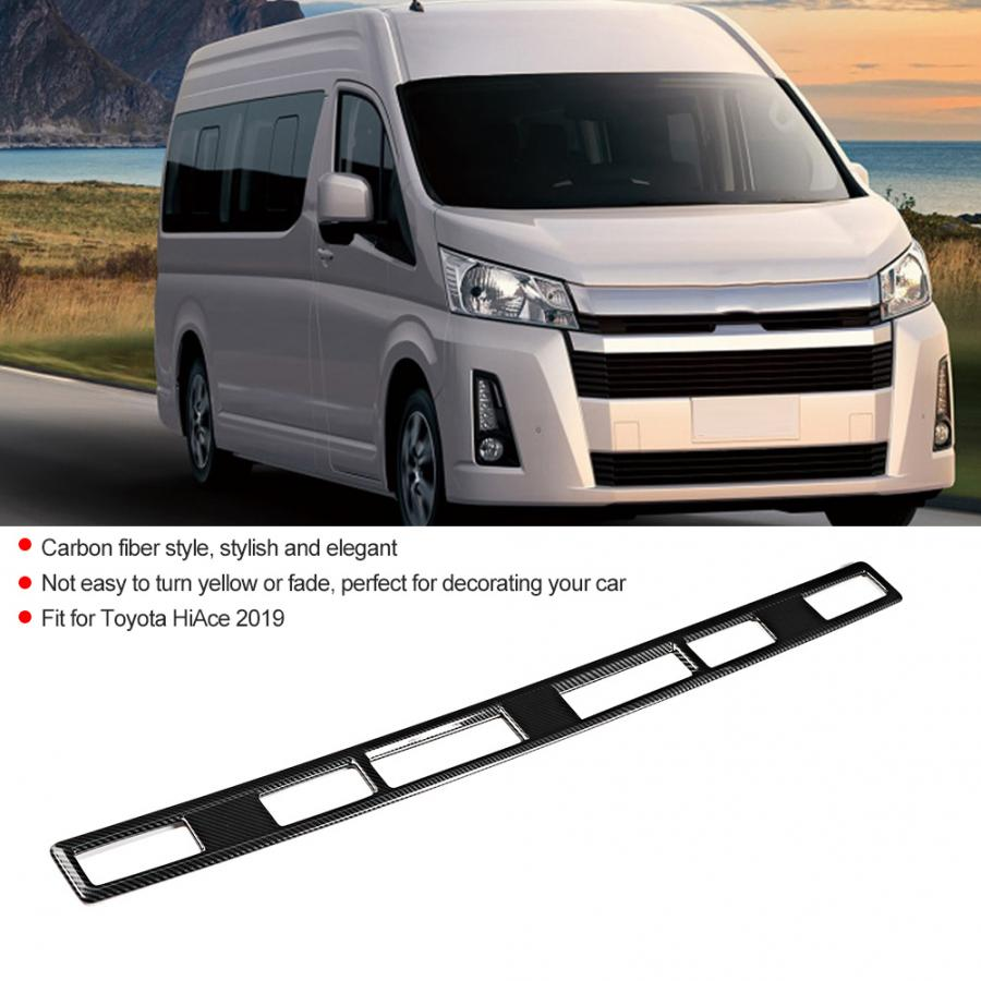 Pair Stainless Steel Front Windows Sill Trim For Toyota Hiace Commuter 2005 2015