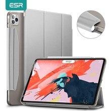 ESR étui pour iPad Pro 11 ''12.9 'pouces 2020 2018 Smart Case couverture arrière fermeture magnétique avec porte-crayon pour iPad Pro 2020 étui