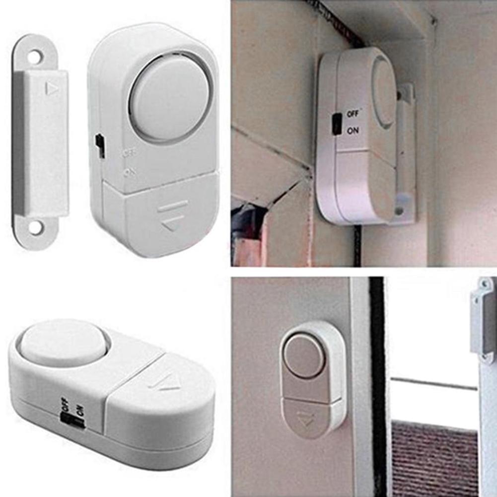 Door Window 110dB Wireless Magnetic Sensor Security Burglar Anti-thief Alarm