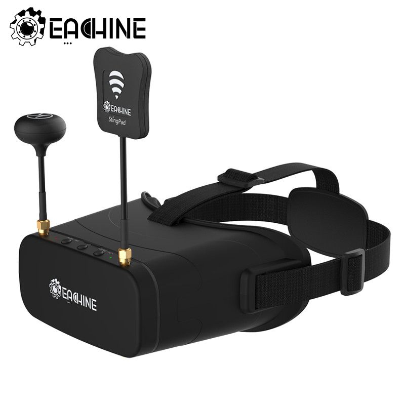 Presale Eachine EV800DM Varifocal 5.8G 40CH Diversity FPV Goggles With HD DVR 3 Inch 900x600 Video Headset Build In Battery