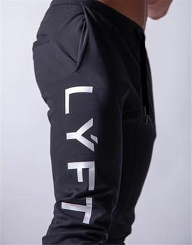 2020 nowe spodnie do biegania męskie spodnie sportowe do biegania spodenki do ćwiczeń męskie spodnie do biegania bawełniane spodnie do biegania dopasowane obcisłe spodnie kulturystyka tanie i dobre opinie Zroadlop Spodnie dresowe Pełna długość Na co dzień Mieszkanie COTTON spandex średniej wielkości PATTERN Sukno REGULAR