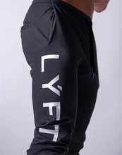 2020 חדש ריצה גברים ספורט מכנסי טרנינג ריצת מכנסיים כושר מכנסיים גברים רצים כותנה Trackpants Slim Fit מכנסיים פיתוח גוף מכנסיים