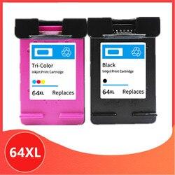 Voor HP64 Compatibele Inkt Cartridge Vervanging Voor Hp 64 Xl 64xl Envy 7800 7820 7158 7164 7855 7864 6252 6255 printer