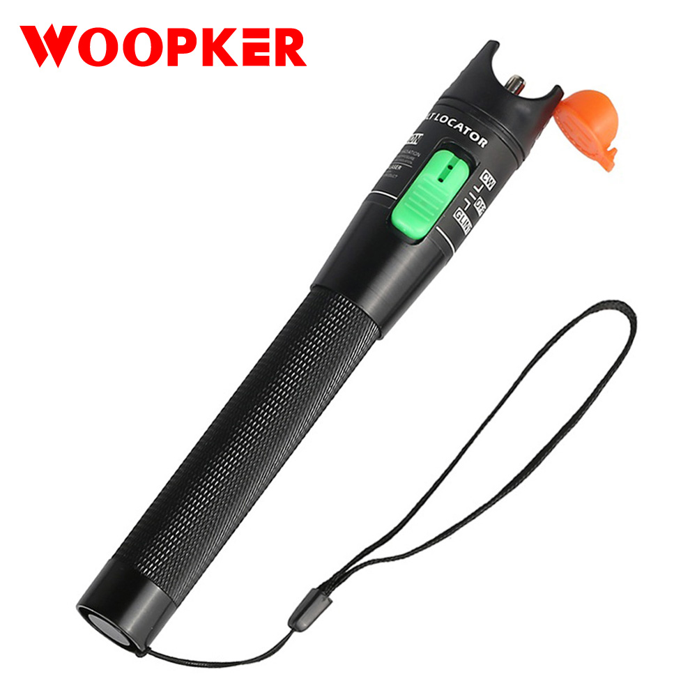 Powerful 30mW Red Laser Visual Fault Locator Fiber Optic Cable Tester Pen Long Distance 10-30km Range