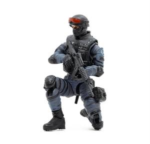 Image 4 - JOYTOY 1/18 aksiyon figürü SWAT asker oyun karakter çapraz ateş (CF) ücretsiz kargo