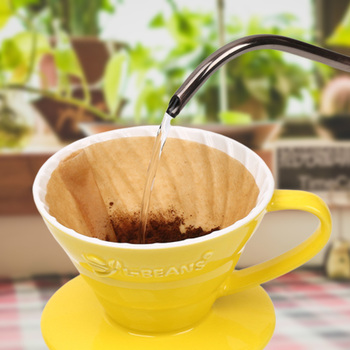 Wooden Hand V60 Drip Paper Coffee Filter 102 Type Handmade Coffee Filters Coffee Accessories Tea Bag Strainer Kitchen Tools 3