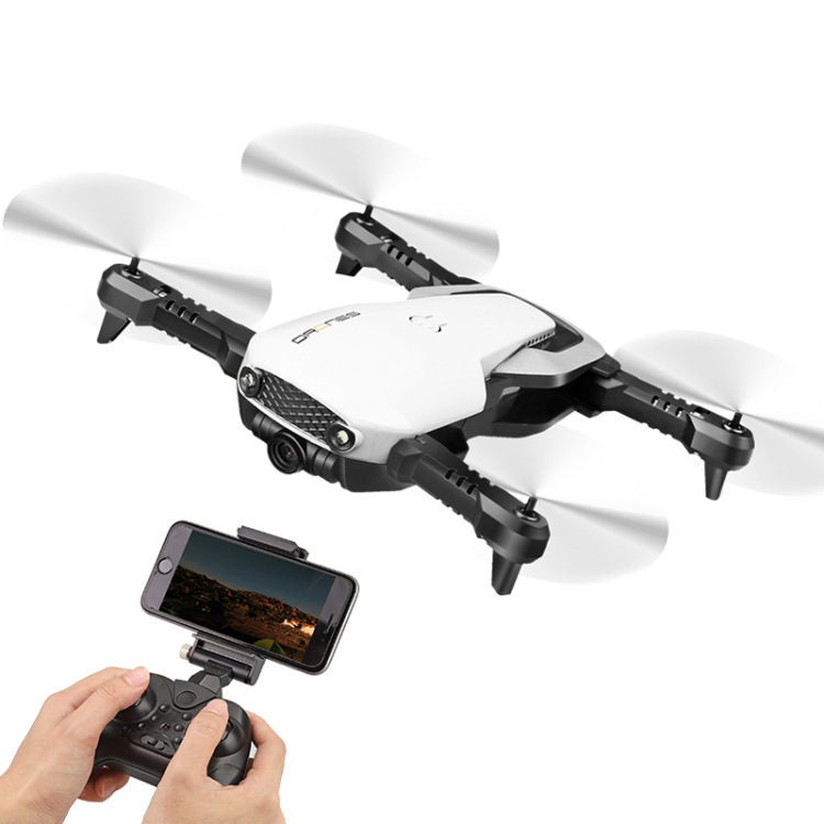 Long Life Folding Unmanned Aerial Vehicle Aerial Photography High-definition Mobile Phone WiFi Image Transmission Quadcopter Rem