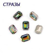 CTPA3bI 4610 Octagon Shape Crystal Vitrail Medium Color Beads Sew On Stone Glass Rhinestones Jewelry Garments Accessories Crafts