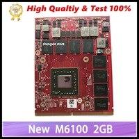 Novo para dell precision m6800 m6600 m15x firepro m6100 placa gráfica de vídeo k5wcn 0k5wcn CN 0K5WCN totalmente testado Cartões para acréscimos     -