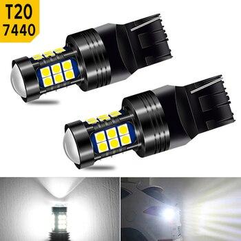 2x T20 7440 W21W BA15S P21W 1156 LED Bulb Backup Reverse Light Auto For Chevrolet Cruze Captiva Aveo Orlando Trax Lacetti 2011