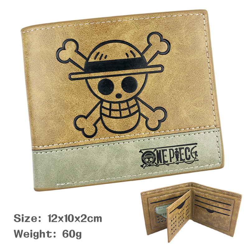 ONE PIECE/ Rick And Morty/Naruto Cartoon Wallet Mens Wallet Leather PU Bifold Short Wallets Men Hasp Vintage Male Coin Purse