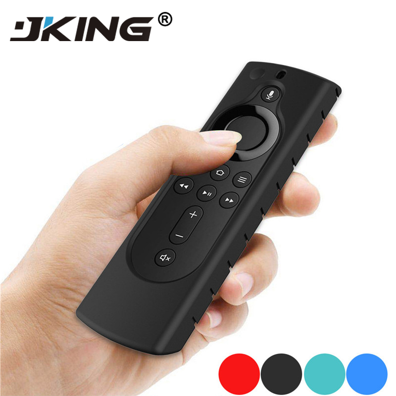 JKING For Amazon Fire TV Stick 4K TV Stick Remote Silicone Case Protective Cover Skin D.19