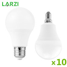 10PCS 220V LED Bulb Lamps 6W 9W 12W 15W 18W 20W 24W E27 E14 LED Light Bulb High Brightness Lampada LED Bombilla Lighting