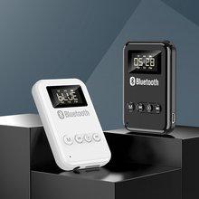Bluetooth 50 приемник передатчик 2 в 1 aux аудио беспроводной