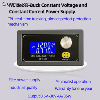 DC-DC digital LCD display constant voltage current step-down programmable control power module ammeter diy electronics