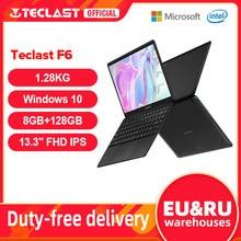 Teclast F6 Neueste Laptop 8GB LPDDR4 128GB SSD 1,28 KG Notebook 13.3