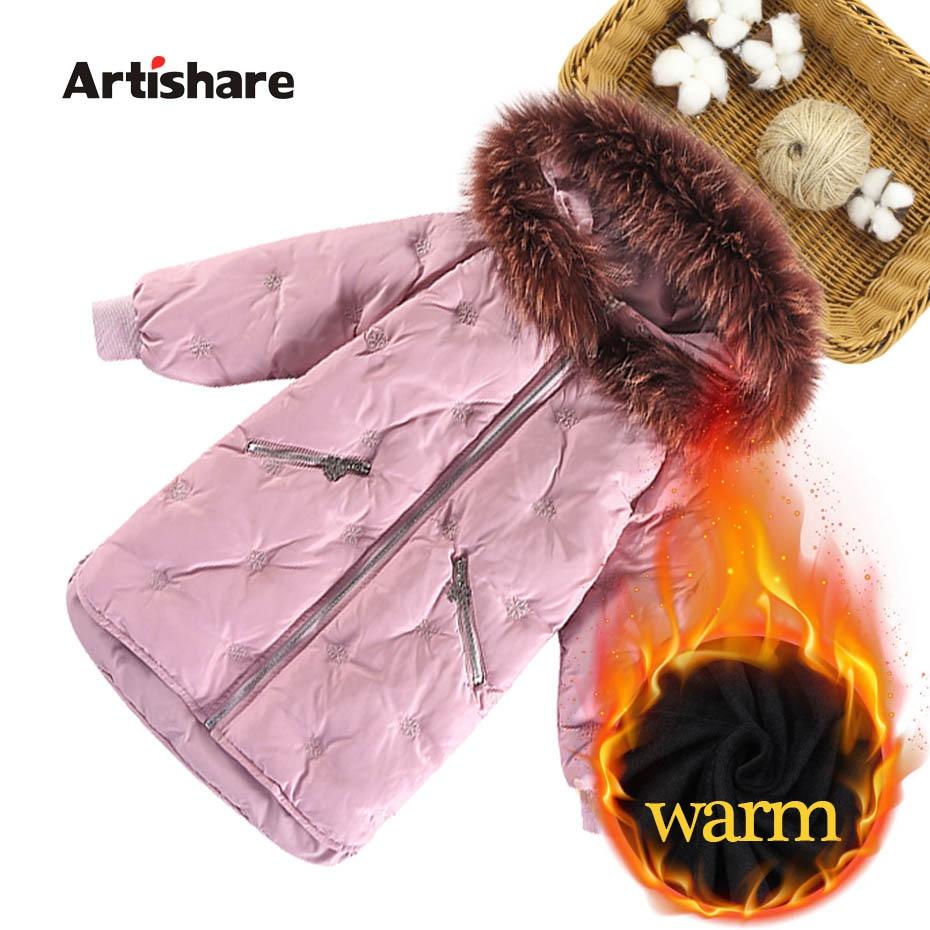 Зимние куртки для девочек, 2019 теплое пальто с подкладкой парка для девочек парка с капюшоном и меховым воротником, пальто для девочек 6, 8, 10, 12, 14 лет on Aliexpress.com | Alibaba Group