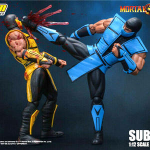 IN stock Storm Toys DCMK-003 1/12 Mortal Kombat Sub-Zero Collectible Figure Model Toys