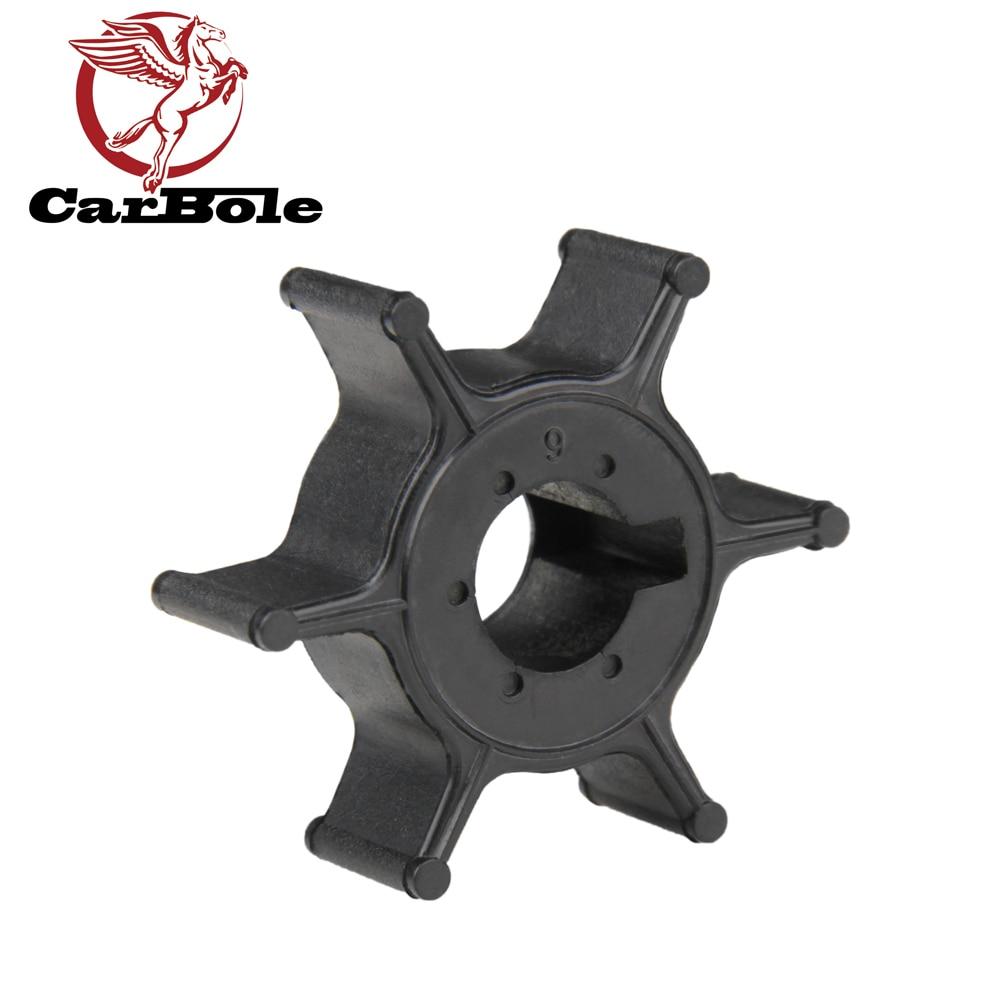 CARBOLE Boot Motor Laufrad für Yamaha 4HP 5HP 6HP Außenbordmotor 6E0-44352 6E0-44352-00-00 6E0-44352-003 6E0-44352-00 18-3073