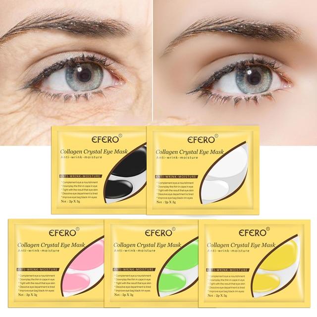 5/8/10/15pair Collagen Crystal Eye Mask Under Eye Patch Anti Aging Dark Circles Remove PuffyMoisturizing Eye Pad Mask for Face