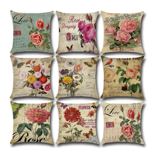 Rural Style Decorative cushion cover pillows Throw Pillow Case 45*45cm Square Cushion Cover Case Living Room Sofa Bed Home Deco цены