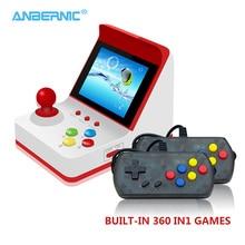 ANBERNIC Retro Arcade Mini 8Bit Handheld Game Console Portable Arcade Retro Video Game Box Machine &Gift Double Gamepad Joystick цена 2017