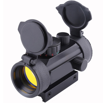 Holographic Sight 1x40 Red Dot Sight Scope Airsoft Red Green Dot Sight Scope Hunting Scope 11mm 20mm Rail Mount Collimator Sight on scope