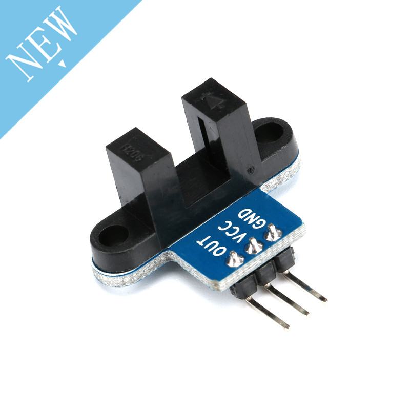 For Motor Test IR Infrared Slotted Optical Speed Measuring Sensor Detection Optocoupler Module