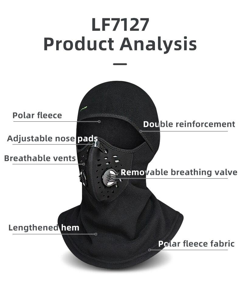 Hc03166570cb94e97b33b667752ac34bds - Winter Ski Mask Cycling Skiing Running Sport Training Face Mask Balaclava Windproof Soft Keep Warm Half Face Mask
