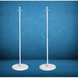 (1 para = 2 szt.) SO F1 95cm 117cm okrągła podstawa columu regulowany biały dźwięk przestrzenny głośnik drewniany stojak podłogowy sonos play 1 w Uchwyty do projektora od Elektronika użytkowa na