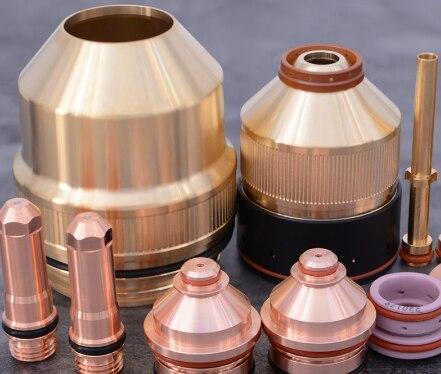 Shield Cap*220637 Nozzle Retaining Cap*220757 220760 Electrode*220435 220352 Nozzle*220439 220354 Shield*220764 220761