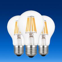 Energooszczędna 4W 6W lampa z żarówką LED imitująca drut wolframowy retro żarówka G45 220V żarówka edisona tanie tanio NoEnName_Null Żarówki LED 360° Ciepły biały (2700-3500 k) Globe Żarówka bańka 2835 249 Lumenów i Pod SALON