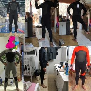 Image 5 - Date 3mm néoprène combinaison hommes femmes maillot de bain équipement pour la plongée sous marine natation surf chasse sous marine costume Triathlon combinaisons
