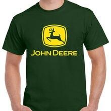 Футболка John Deree вдохновленная Тракторная Мужская футболка для взрослых