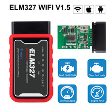 PIC25K80 Chip ELM327 OBD2 Wifi Scanner V1.5 Android IOS Windows Car Diagnostic Tool For Audi Volkswagen Renault Duster Logan