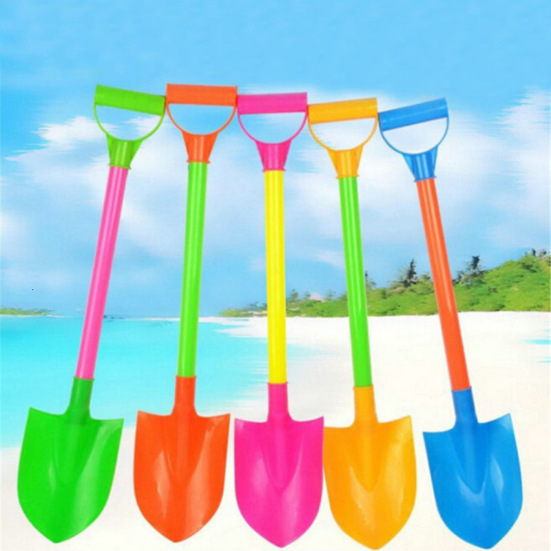 Funny Snow Shovel Toys Kids Plastic Beach Toy Plastic Spade Model Mold Hot Sale