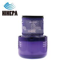 1 قطعة قابل للغسل HEPA آخر تصفية ل دايسون V11 SV14 عصا يد مكنسة كهربائية مقارنة إلى جزء #970013 02