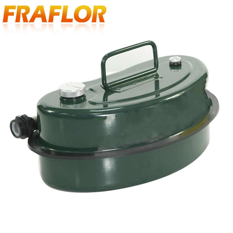 30L-60L with Oil Guide Tube Outdoor Travel Metal Fuel Tank Explosion-Proof Spare Emergency Diesel Tank Gasoline Tank